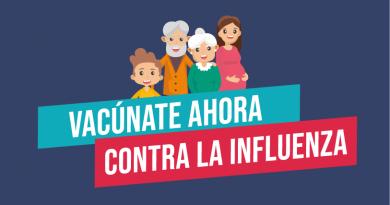 Campaña: Vacúnate ahora contra la Influenza 2020