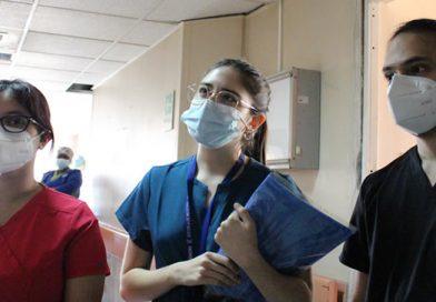 Internos de Medicina llegan apoyar el Hospital San José