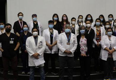 Nuevos Internos llegan a la Unidad de Medicina